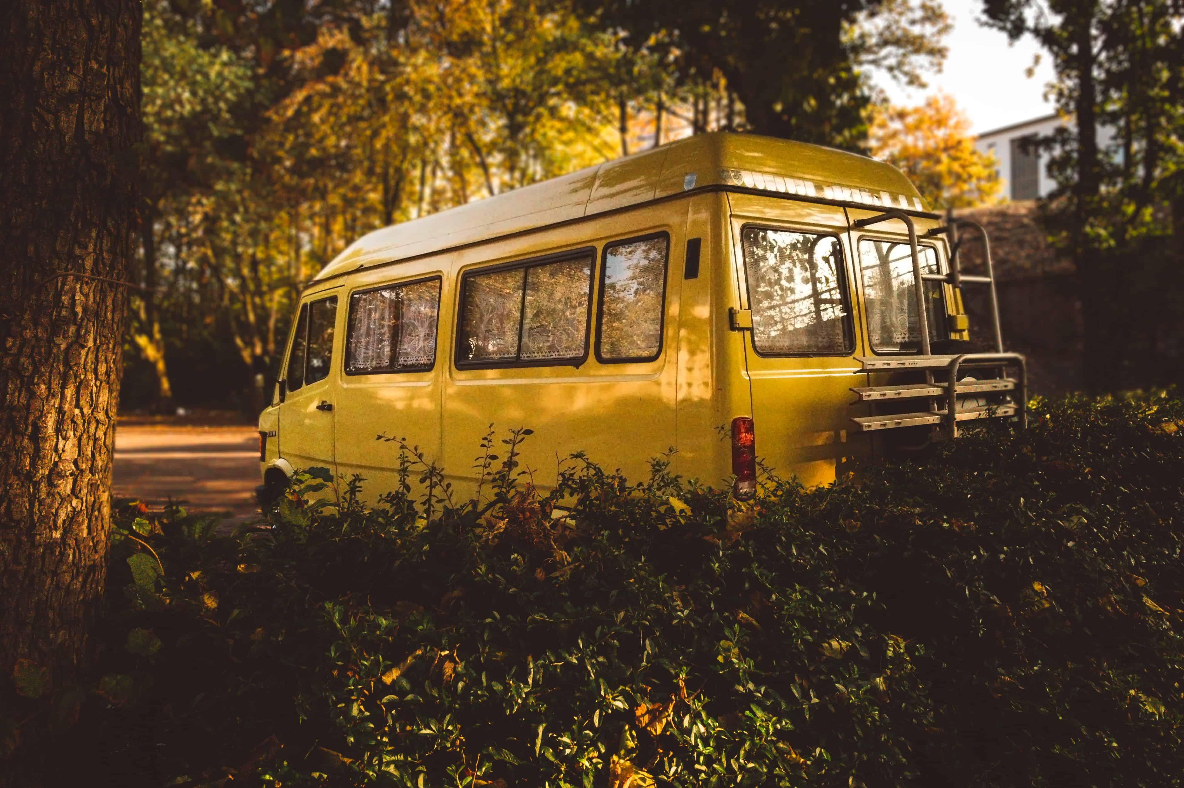staplaats voor wonen in een camper